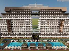 Luxurious apartments in Altıntaş, Antalya in a complex with hotel facilities and private beach - 45914 | Tolerance Homes