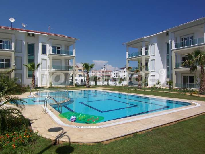 Two-bedroom apartments in Belek, Antalya near a golf courses in a complex with a swimming pool - 541 | Tolerance Homes