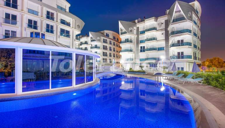 Apartment complex in Liman, Konyaalti luxury hotel type with a large swimming pool and rental guarantee - 587 | Tolerance Homes