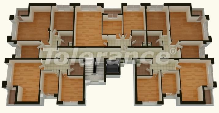 Apartments in Liman, Antalya near the sea - 763 | Tolerance Homes