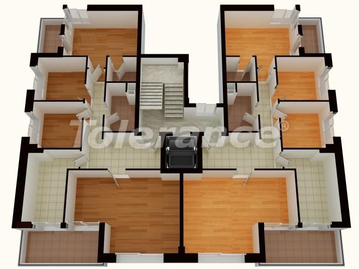 Apartments in Liman, Antalya near the sea - 761 | Tolerance Homes