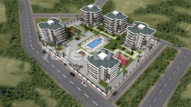 Spacious apartments in Kepez, Antalya from one of the best developers - 1465 | Tolerance Homes