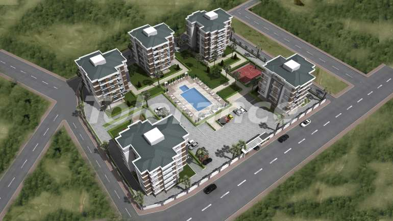 Spacious apartments in Kepez, Antalya from one of the best developers - 1464 | Tolerance Homes