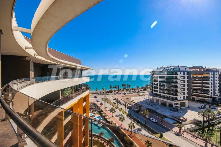 Luxury apartments in Liman, Konyaalti on the first coastline - 33527   Tolerance Homes