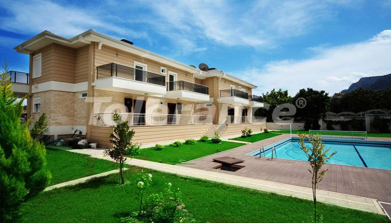 Inexpensive house in Goynuk, Kemer with 4 bedrooms in a complex with swimming pool - 1834 | Tolerance Homes