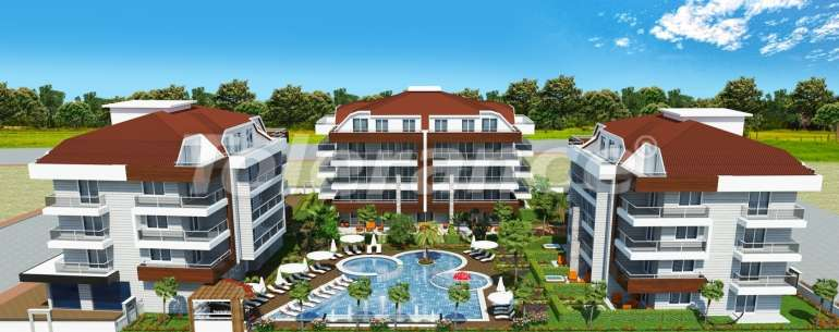 Luxury class apartments in Oba, with the services of a five star hotel - 2661 | Tolerance Homes