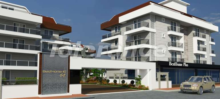 Luxury class apartments in Oba, with the services of a five star hotel - 2662 | Tolerance Homes