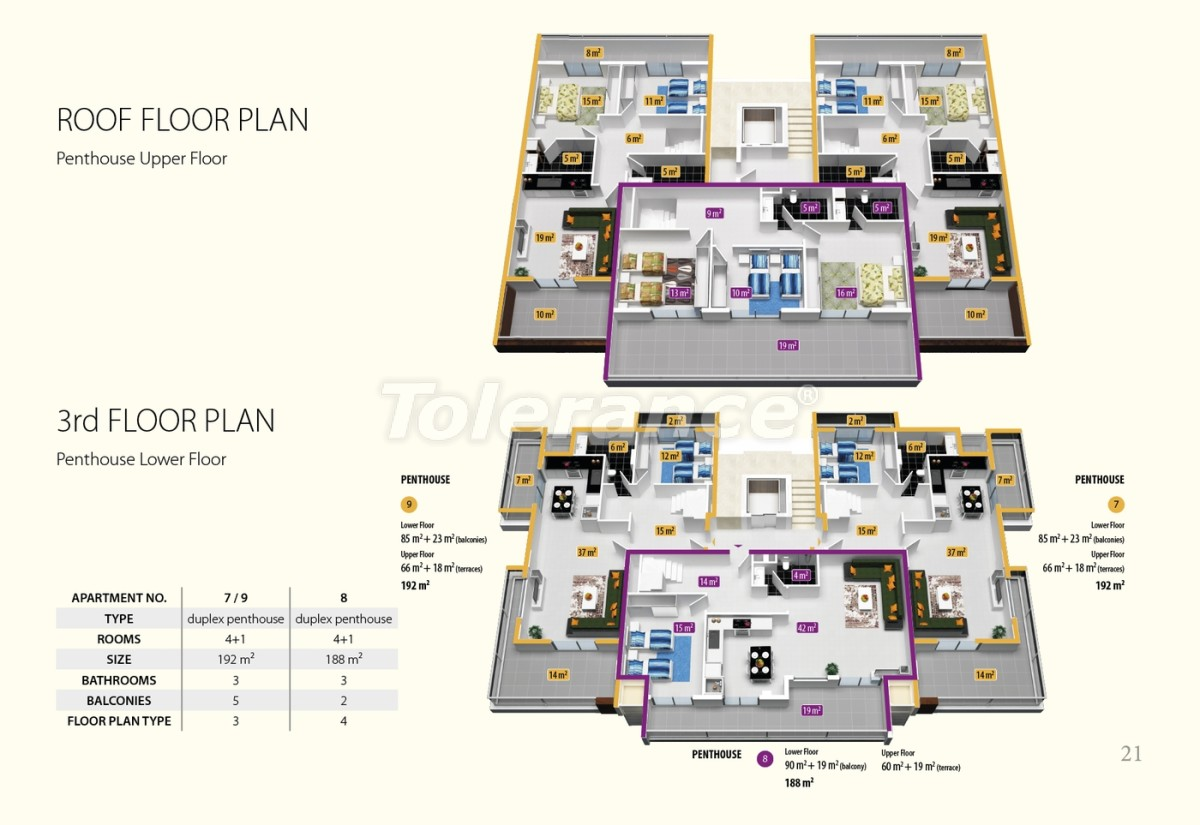 Luxury class apartments in Oba, with the services of a five star hotel - 2680 | Tolerance Homes