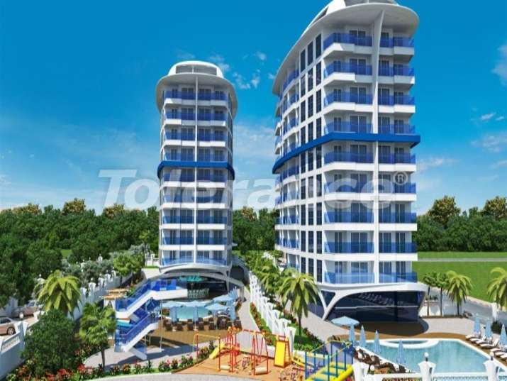 Luxury self-contained apartment resort in Alanya - 2714 | Tolerance Homes