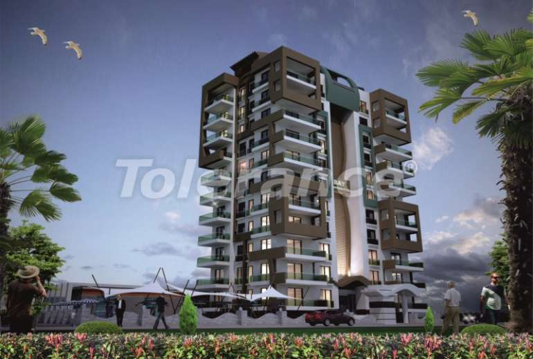 Apartments in a new complex in Mahmutlar, 250 meters from the sea - 2761 | Tolerance Homes