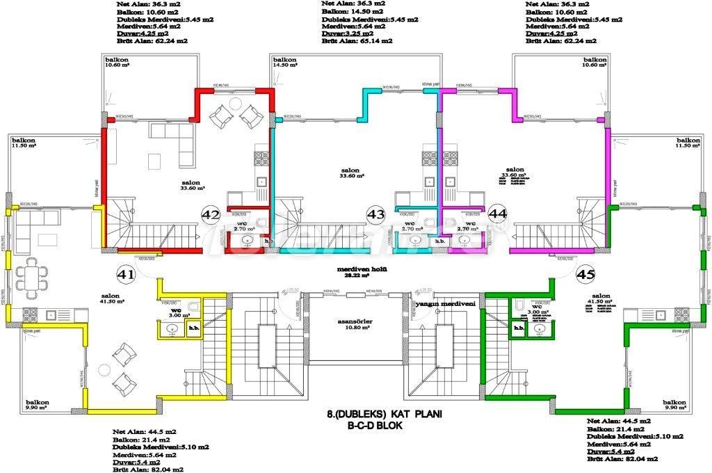 Apartments in Avsallar, Alanya, a unique complex near the sea - 2891 | Tolerance Homes
