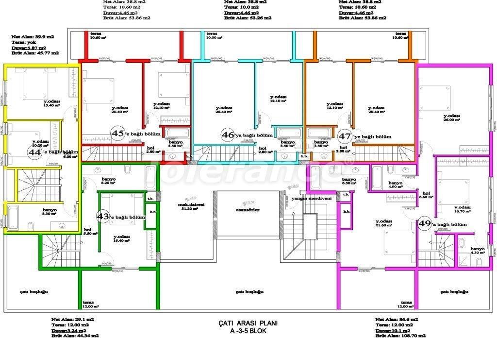 Apartments in Avsallar, Alanya, a unique complex near the sea - 2888 | Tolerance Homes