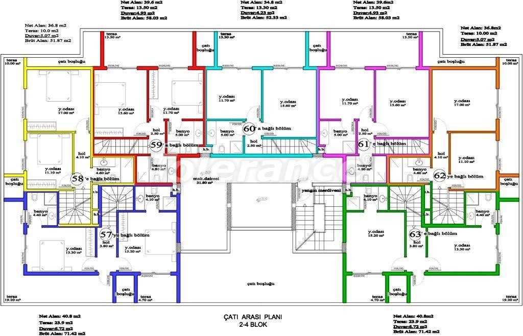 Apartments in Avsallar, Alanya, a unique complex near the sea - 2884 | Tolerance Homes