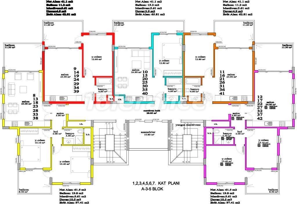 Apartments in Avsallar, Alanya, a unique complex near the sea - 2886 | Tolerance Homes