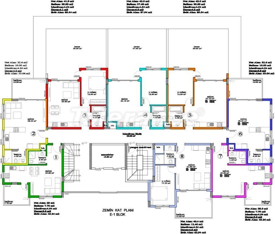 Apartments in Avsallar, Alanya, a unique complex near the sea - 2898 | Tolerance Homes