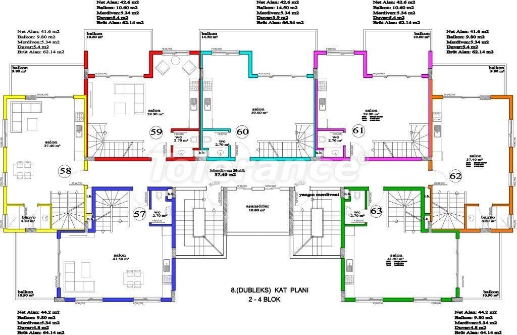 Apartments in Avsallar, Alanya, a unique complex near the sea - 2883 | Tolerance Homes