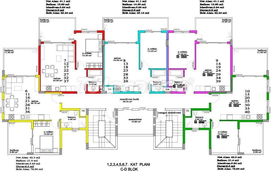 Apartments in Avsallar, Alanya, a unique complex near the sea - 2893 | Tolerance Homes