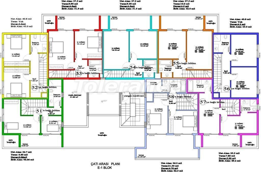 Apartments in Avsallar, Alanya, a unique complex near the sea - 2897 | Tolerance Homes
