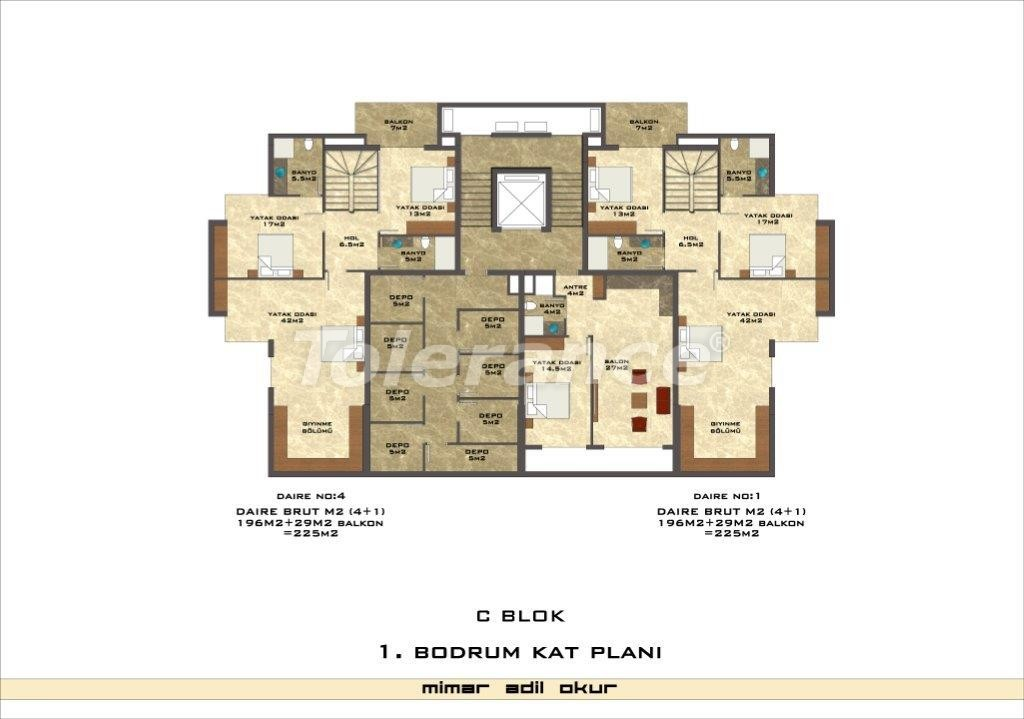 Apartments in Kestel from a well known and reliable construction company - 3032 | Tolerance Homes