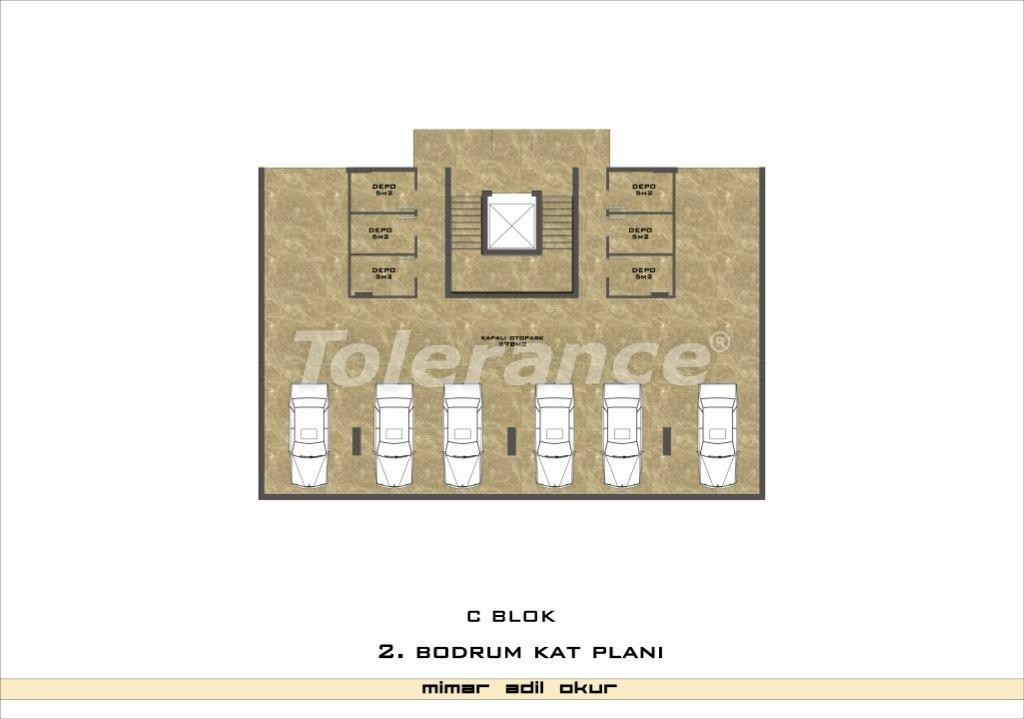 Apartments in Kestel from a well known and reliable construction company - 3034 | Tolerance Homes