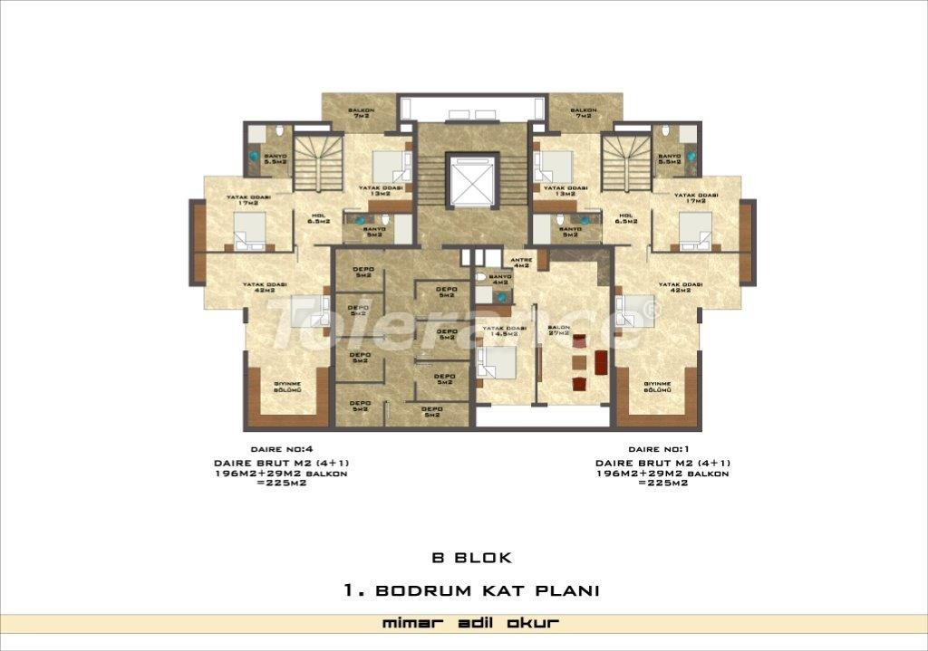 Apartments in Kestel from a well known and reliable construction company - 3025 | Tolerance Homes