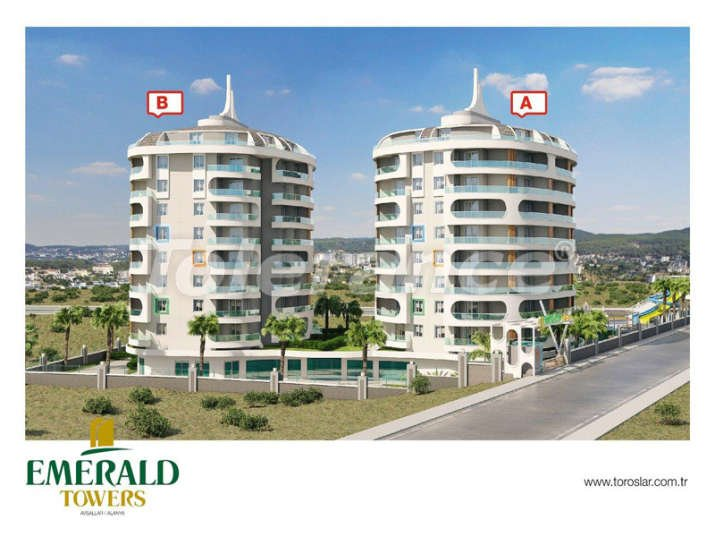 Cheap apartments in Avsallar in a new complex from the developer - 3128 | Tolerance Homes