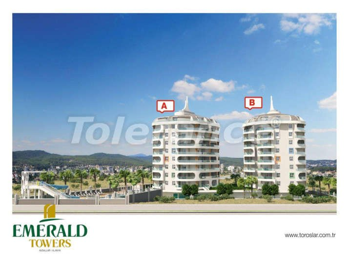 Cheap apartments in Avsallar in a new complex from the developer - 3129 | Tolerance Homes