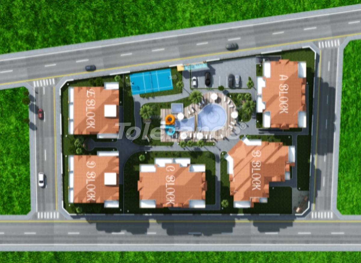 Luxury apartments in Kestel, Alanya from a reliable developer - 3157 | Tolerance Homes
