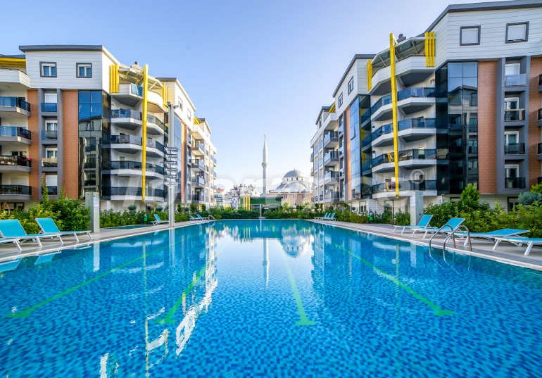 Apartments in Liman, Konyaalti in an elite complex with swimming pool, fitness, sauna, playground - 3235 | Tolerance Homes