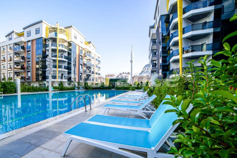 Apartments in Liman, Konyaalti in an elite complex with swimming pool, fitness, sauna, playground - 3236 | Tolerance Homes