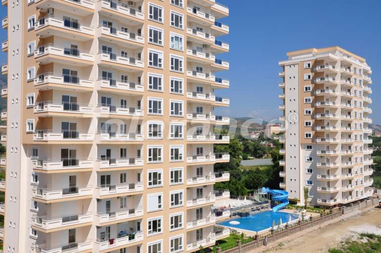 Apartments in Mahmutlar in a complex with an indoor pool and aquapark - 3300 | Tolerance Homes