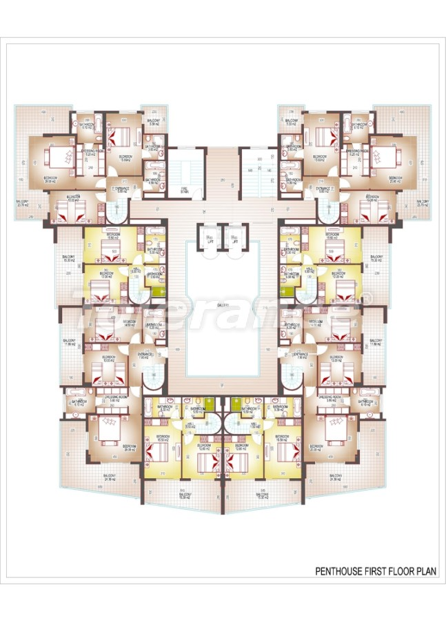 Luxury class apartments in the centre of Mahmutlar - 3513 | Tolerance Homes