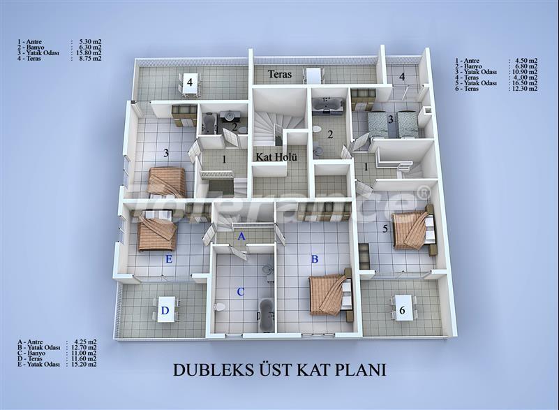 Apartment block in Konyaalti, Antalya 100 meters from the sea - 17032 | Tolerance Homes