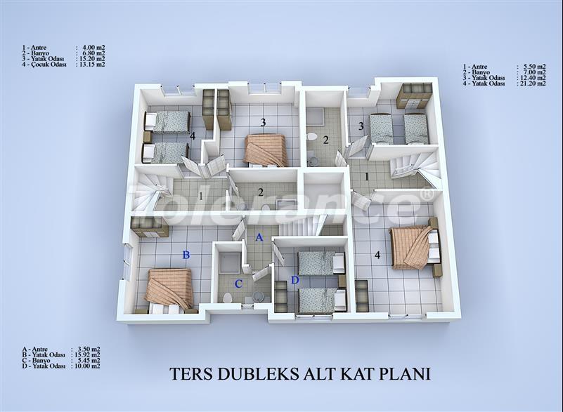 Apartment block in Konyaalti, Antalya 100 meters from the sea - 17034 | Tolerance Homes