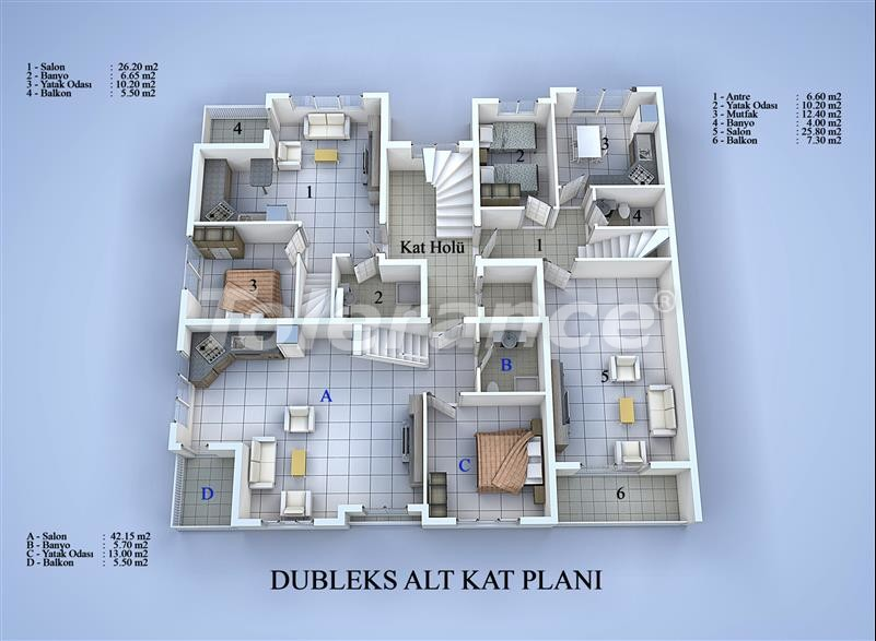 Apartment block in Konyaalti, Antalya 100 meters from the sea - 17031 | Tolerance Homes