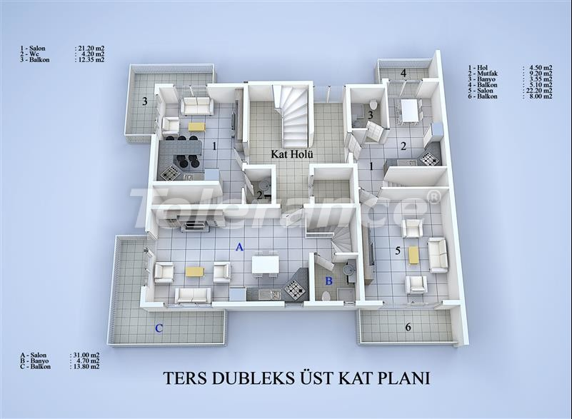 Apartment block in Konyaalti, Antalya 100 meters from the sea - 17035 | Tolerance Homes