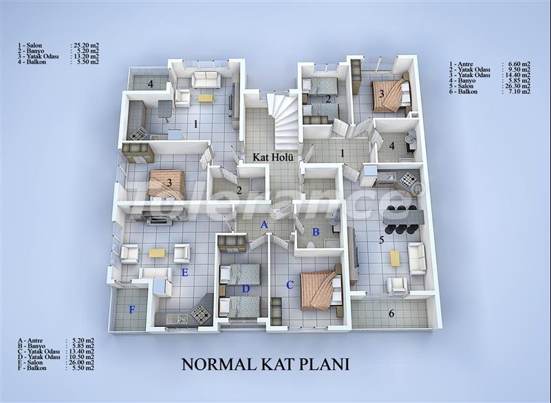 Apartment block in Konyaalti, Antalya 100 meters from the sea - 17033 | Tolerance Homes