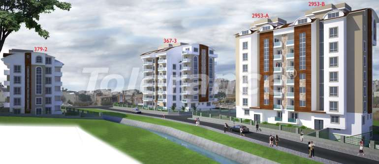 Affordable apartments in Avsallar, Alanya with a beautiful view of the sea and mountains - 3638 | Tolerance Homes