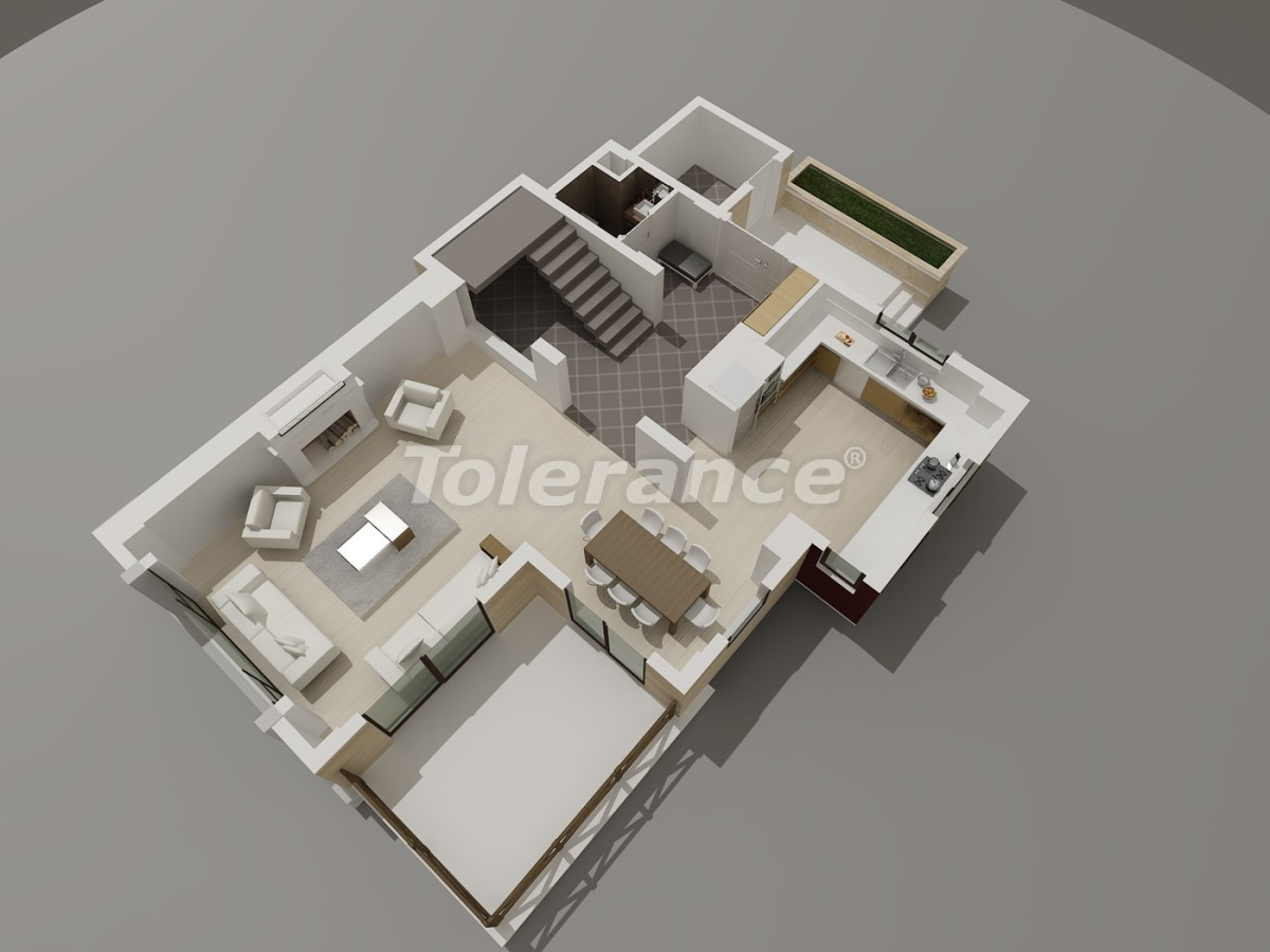 Luxury villas in Konyaalti, Antalya with views of the Toros Mountains - 3947 | Tolerance Homes
