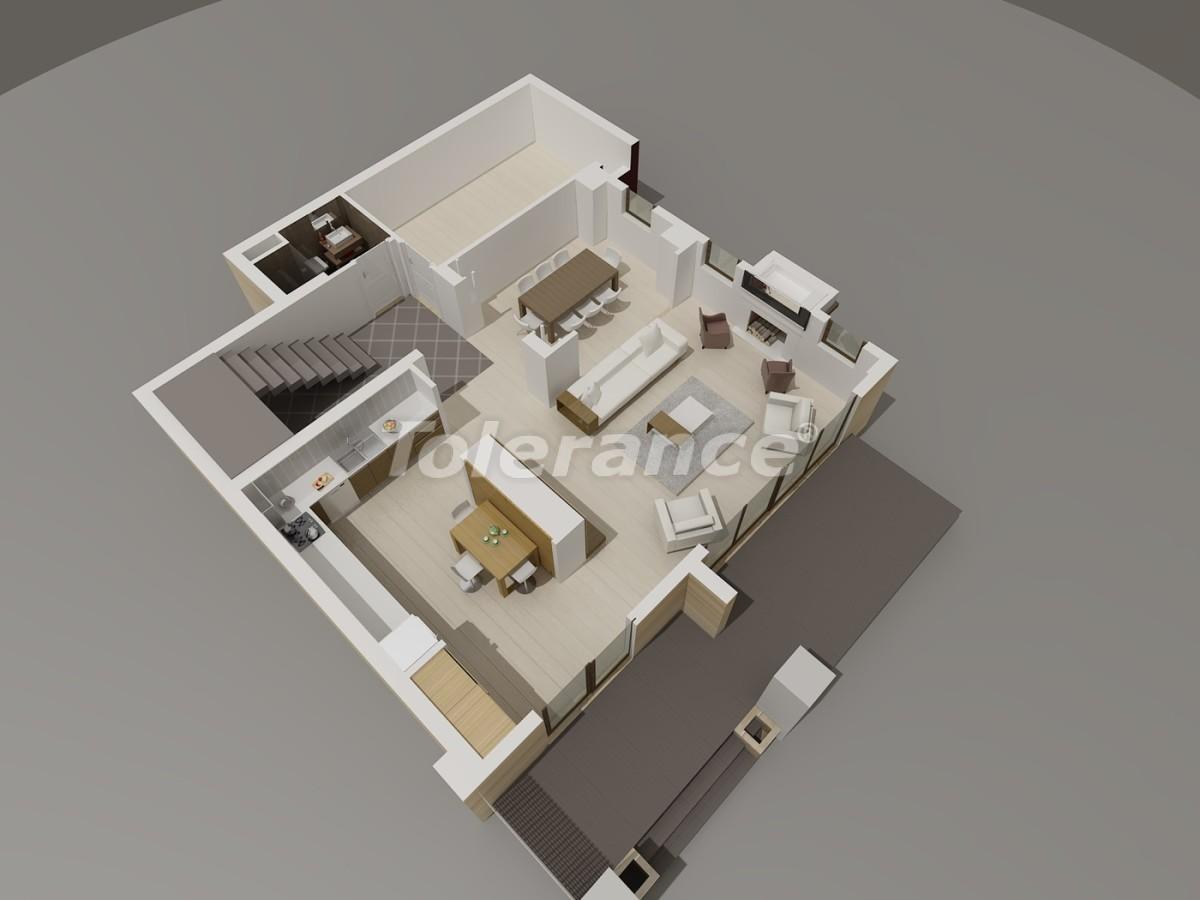 Luxury villas in Konyaalti, Antalya with views of the Toros Mountains - 3958   Tolerance Homes