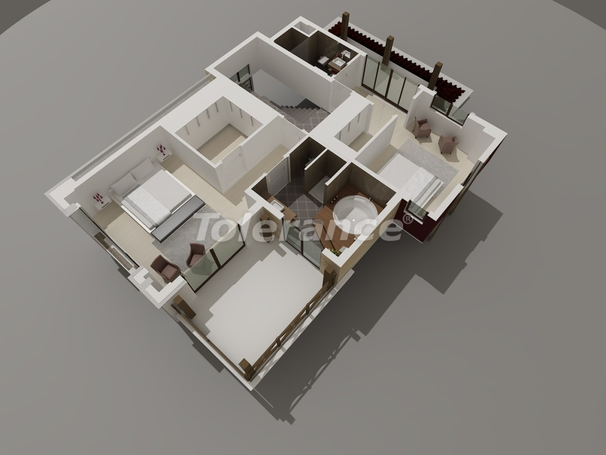 Luxury villas in Konyaalti, Antalya with views of the Toros Mountains - 3951 | Tolerance Homes