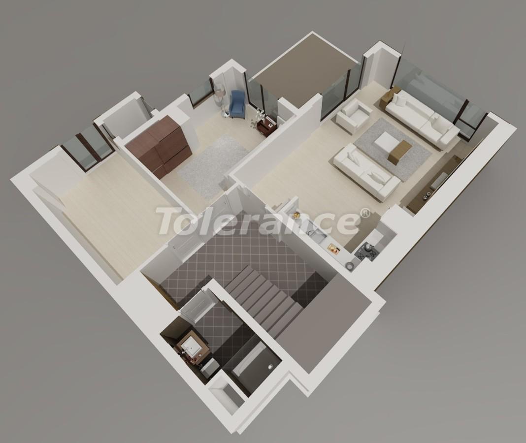 Luxury villas in Konyaalti, Antalya with views of the Toros Mountains - 3957   Tolerance Homes