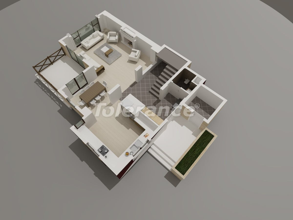 Luxury villas in Konyaalti, Antalya with views of the Toros Mountains - 3946 | Tolerance Homes