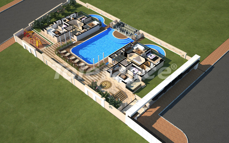 Apartments in Konyaaltı, Antalya with a full set of furniture and appliances 100 meters from the sea - 4096 | Tolerance Homes