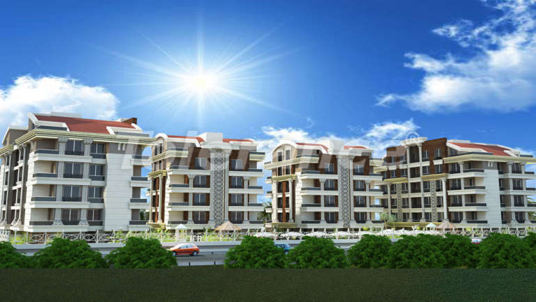 Apartment complex in Hurma, Konyaalti with a swimming pool with the comfort of a hotel - 4358 | Tolerance Homes