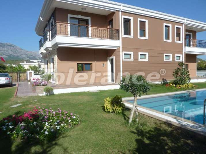 Semi-detached villa in Camyuva, Kemer, 250 meters from the sea - 4825 | Tolerance Homes