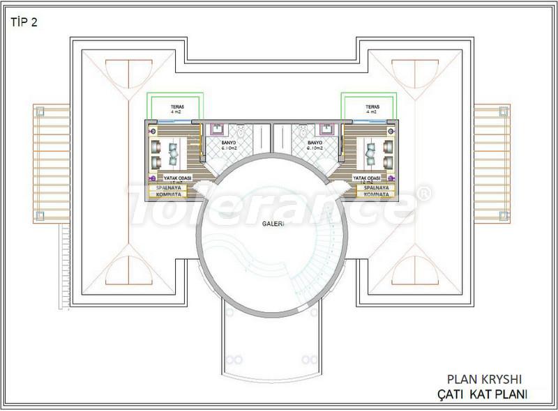 Luxury detached villas in Aslanbucak, Kemer - 5237 | Tolerance Homes
