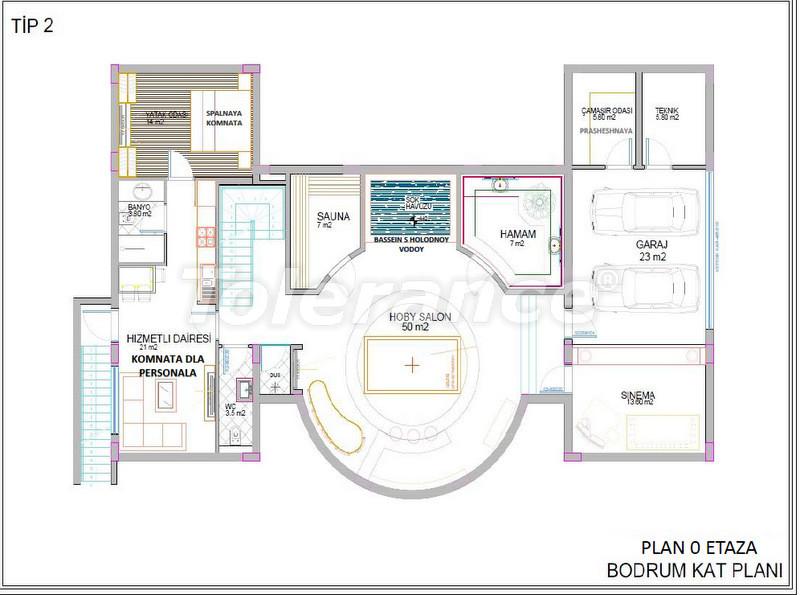 Luxury detached villas in Aslanbucak, Kemer - 5235 | Tolerance Homes