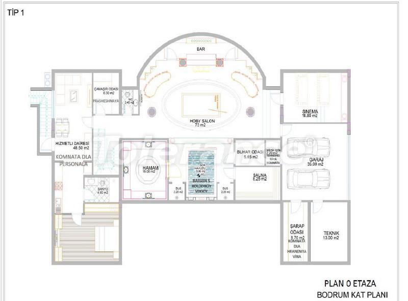 Luxury detached villas in Aslanbucak, Kemer - 5232 | Tolerance Homes