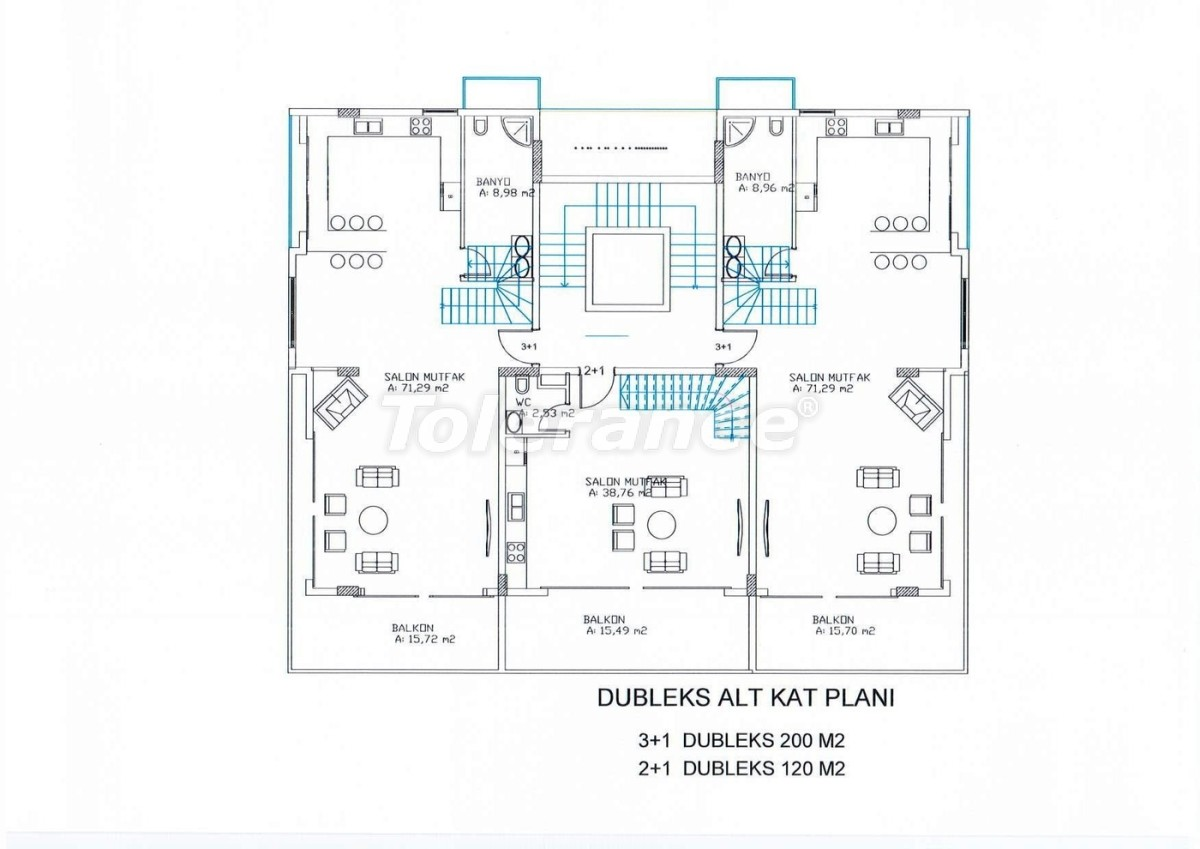 A new investment project of luxury homes in Kargıcak - 5345   Tolerance Homes